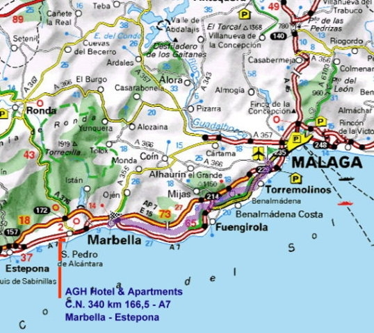 map andalucia golf pltze
